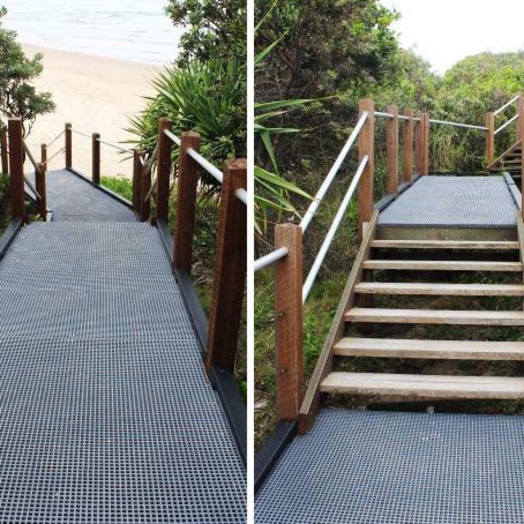 Darkum Headland Beach Access Stairs