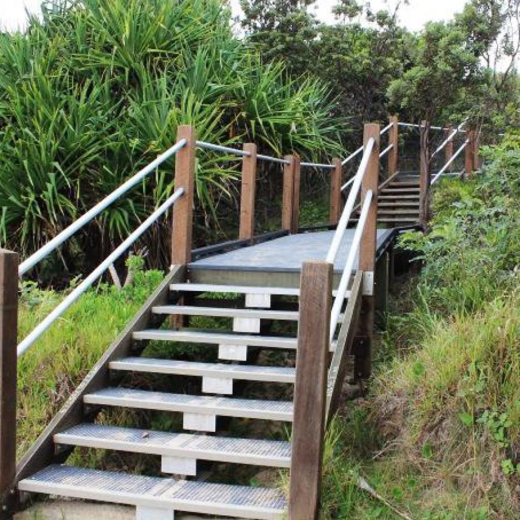Perfect Darkum Headland Beach Access Stairs